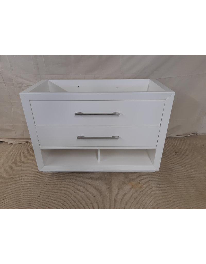 "East York 47"" White Vanity Cabinet"