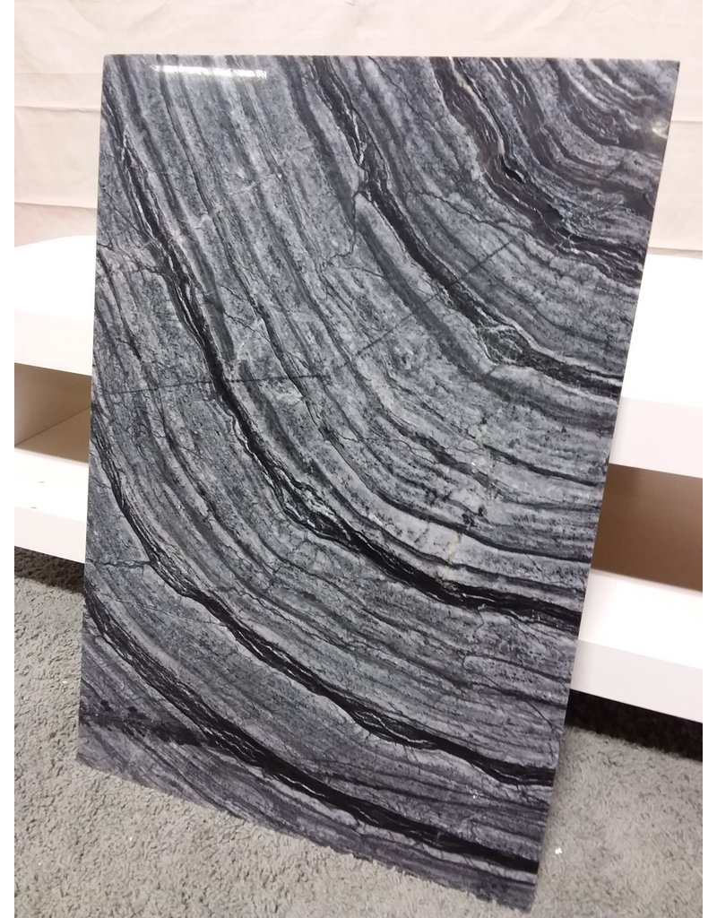 Studio District Black marble side table top