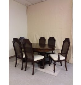 Vaughan Dark Stained Dining Set