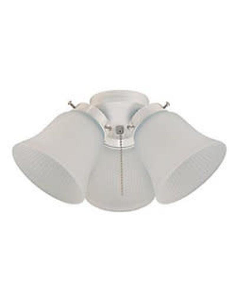 North York White Ceiling Fan Light Kit