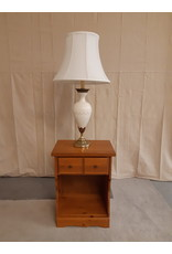 Vaughan Solid Brass & Porcelain Lamp