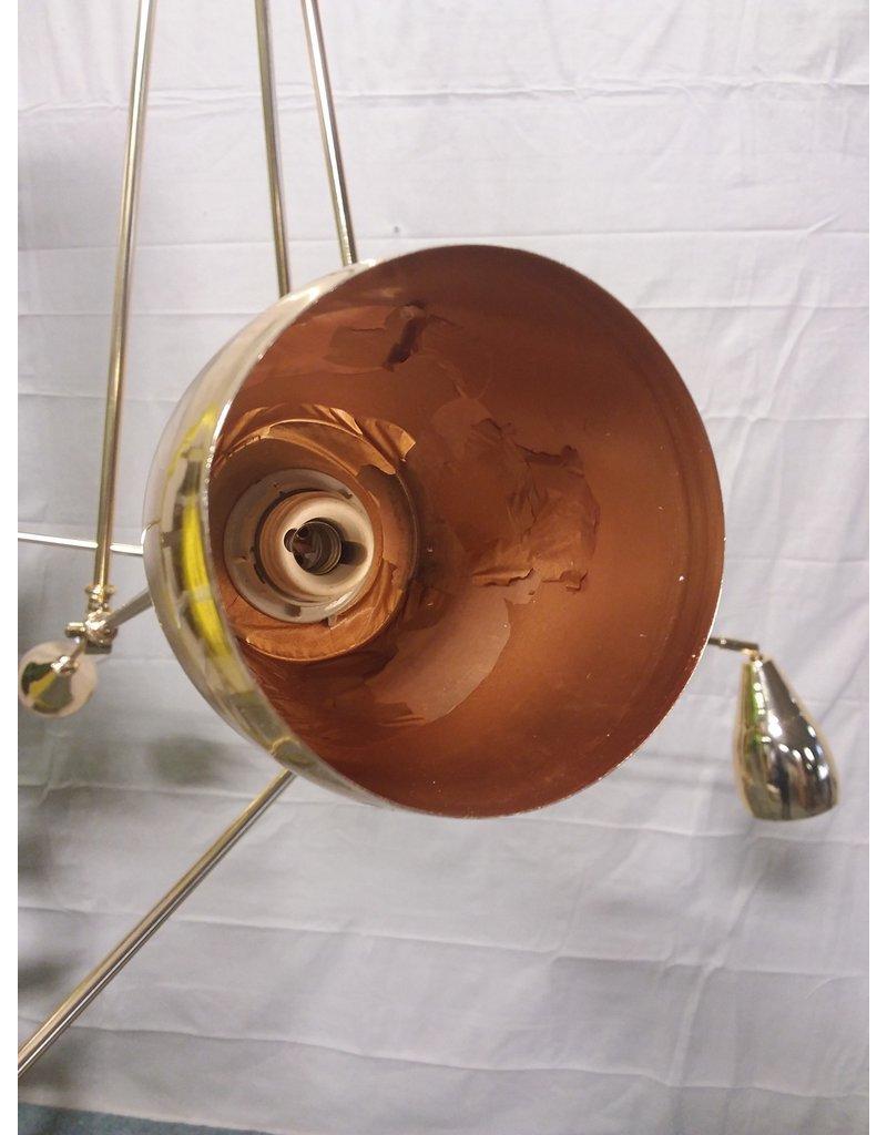 Studio District 6 light golden chandelier