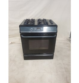 East York Frigidaire Black Gas Stove