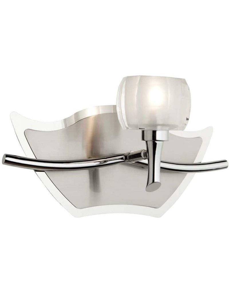 Studio District Brushed Nickel Wall Sconce