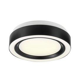 Markham West 13-inch Integrated LED Ring Flush-mount Light Fixture