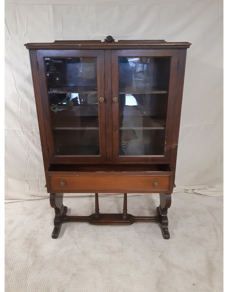 East York Antique China Cabinet