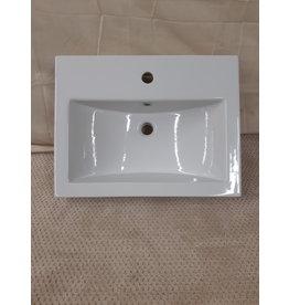 East York New White porcelain sink
