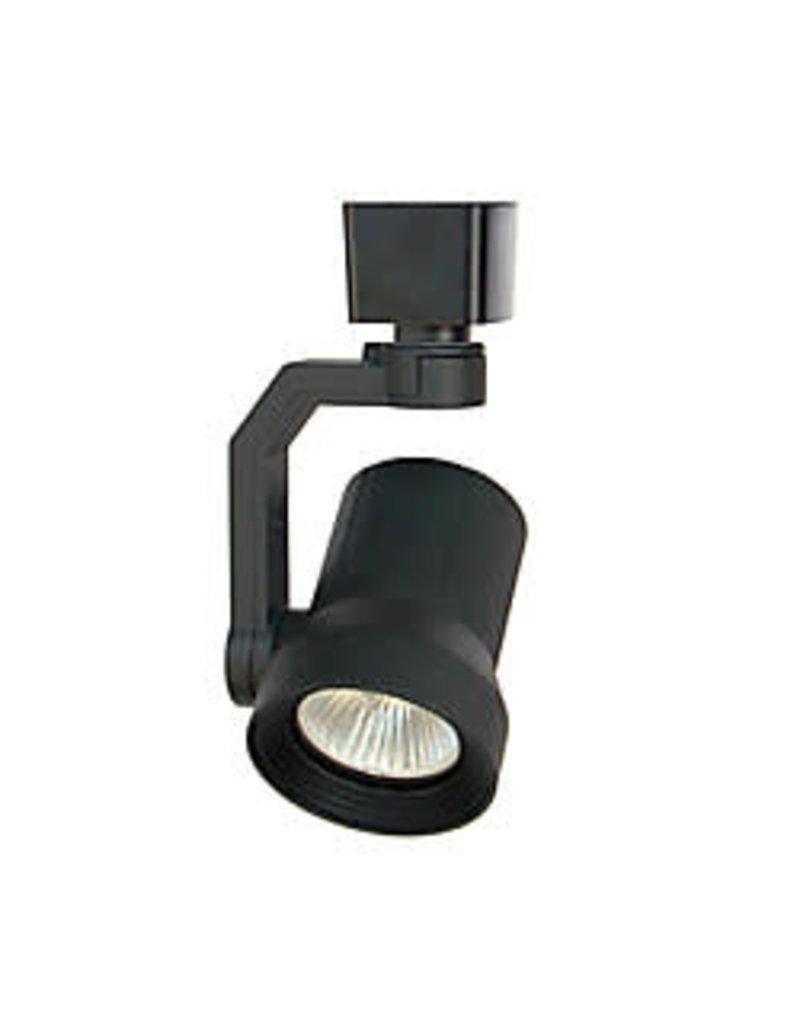 East York LED Track Light Head - Black