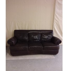 Vaughan Espresso Leather Sofa
