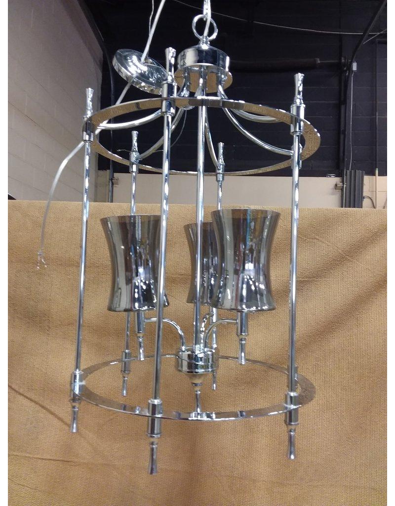 North York Silver chandelier