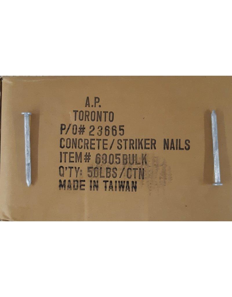 "East York Concrete/ Striker Nails  0.214"" x 3-1/2"""