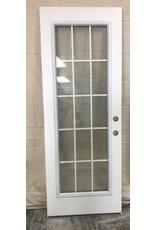 Brampton 15 Lite Metal Exterior Door