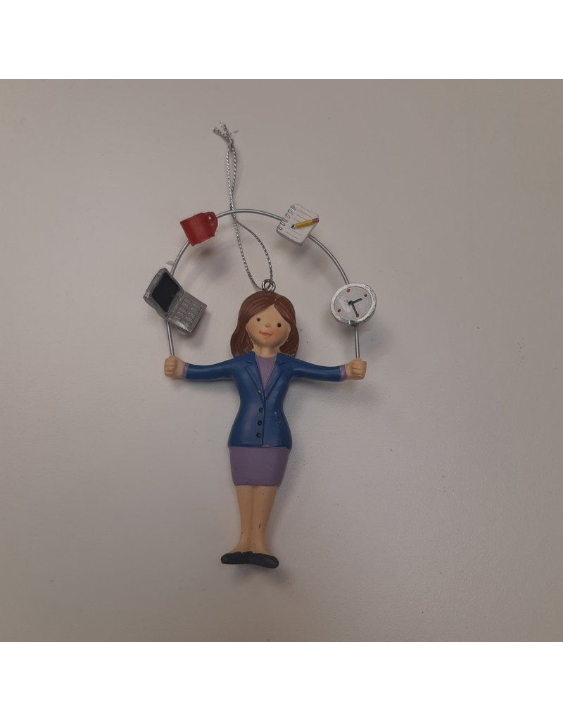 Vaughan Female Office Juggler - Ornament
