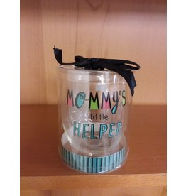 "Vaughan Mothers' Day Wine Glass  ""Mommy"""