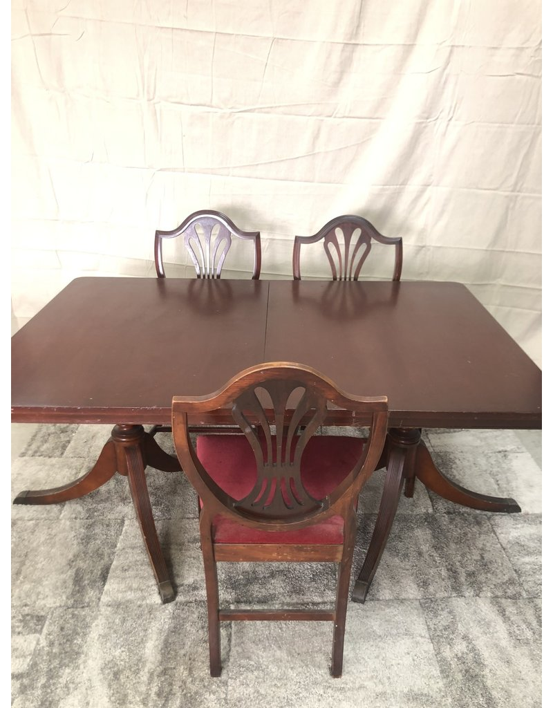 Brampton Antique Table and Chairs