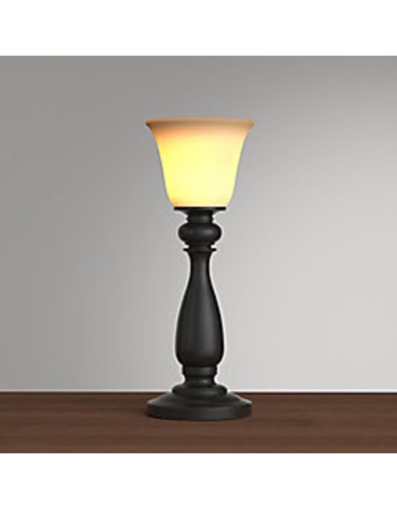 Markham West 16-inch Oil-Rubbed Bronze Uplight Buffet Lamp