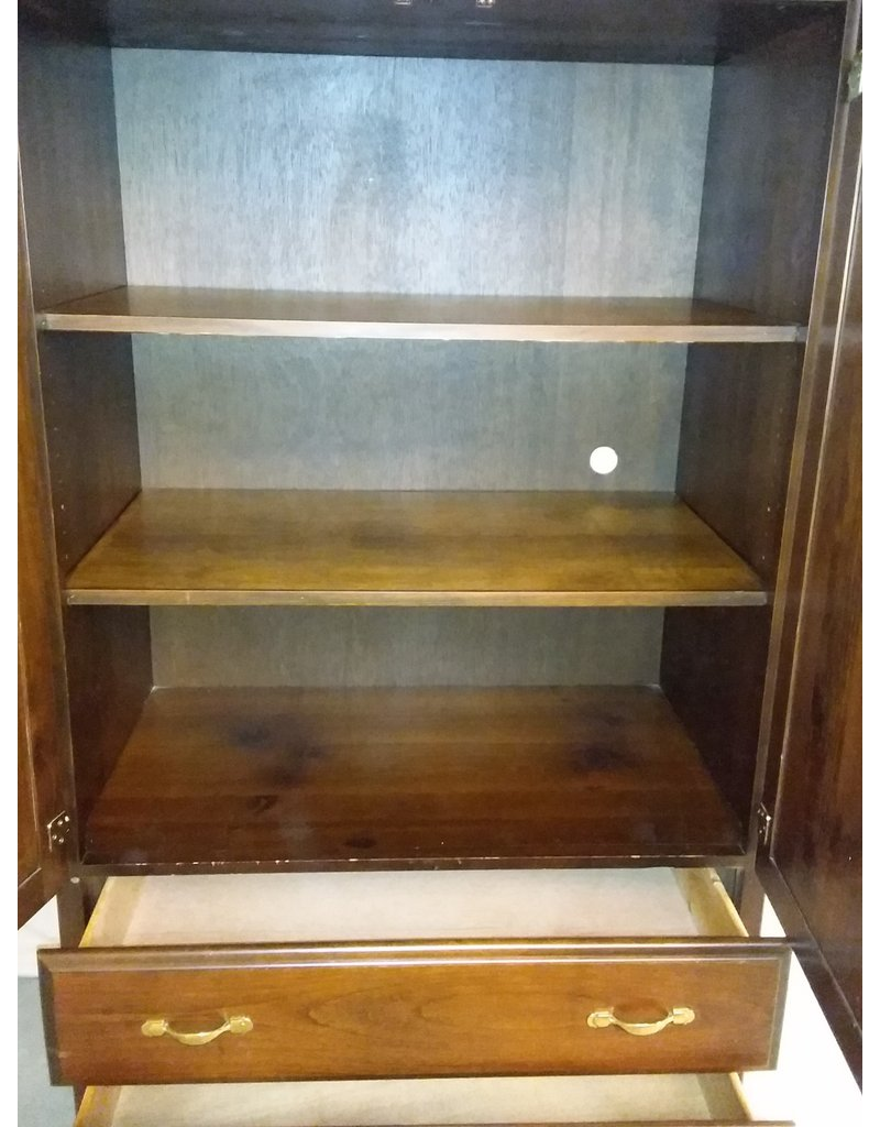Vaughan Brown Wood Bedroom Armoire