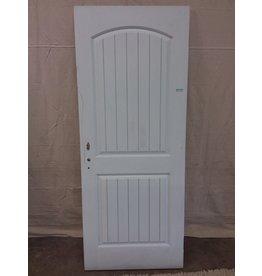 North York White wooden entry door 80.5x200.5cm