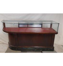 East York 1940s Oak Shop Display Counter