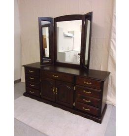 Vaughan Bedroom Dresser with Mirror