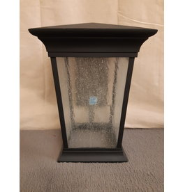 Vaughan Black Square Exterior Wall Sconce - LED