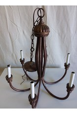 North York 6 bulb chandelier