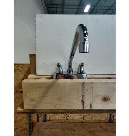 Markham West Chrome 2-Handle Utility Sink Faucet