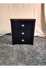 Markham West 3 Drawer Night Side table