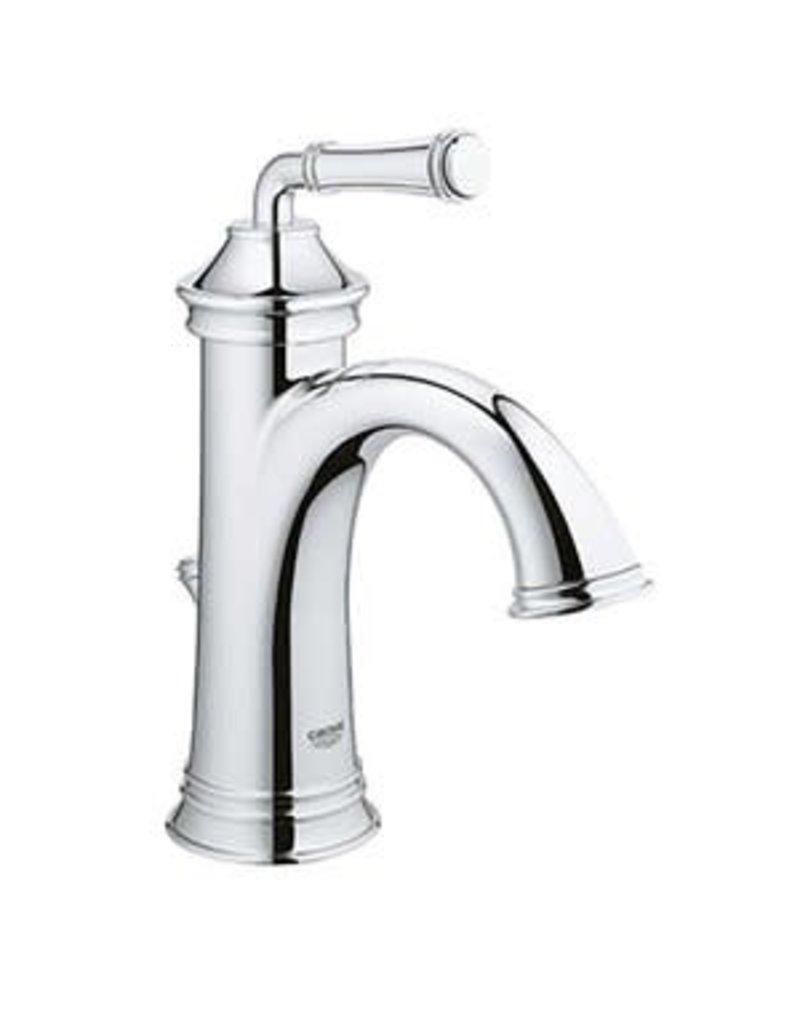 Markham West Chrome 1-Handle Single Hole 4-in Centerset WaterSense Bathroom Sink Faucet