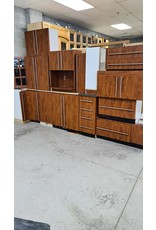 East York Compact Kitchen Cabinet Set