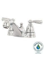Markham West Banbury 4-Inch Centerset 2-Handle Low-Arc Bathroom Faucet in Chrome