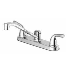 Markham West Project Source Two-Handle Low-Arc Kitchen Faucet