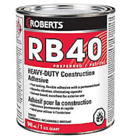 Vaughan RB40 Construction Adhesive