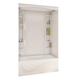 East York MAAX White Alaska Acrylic Tub Or Shower Wall Kit