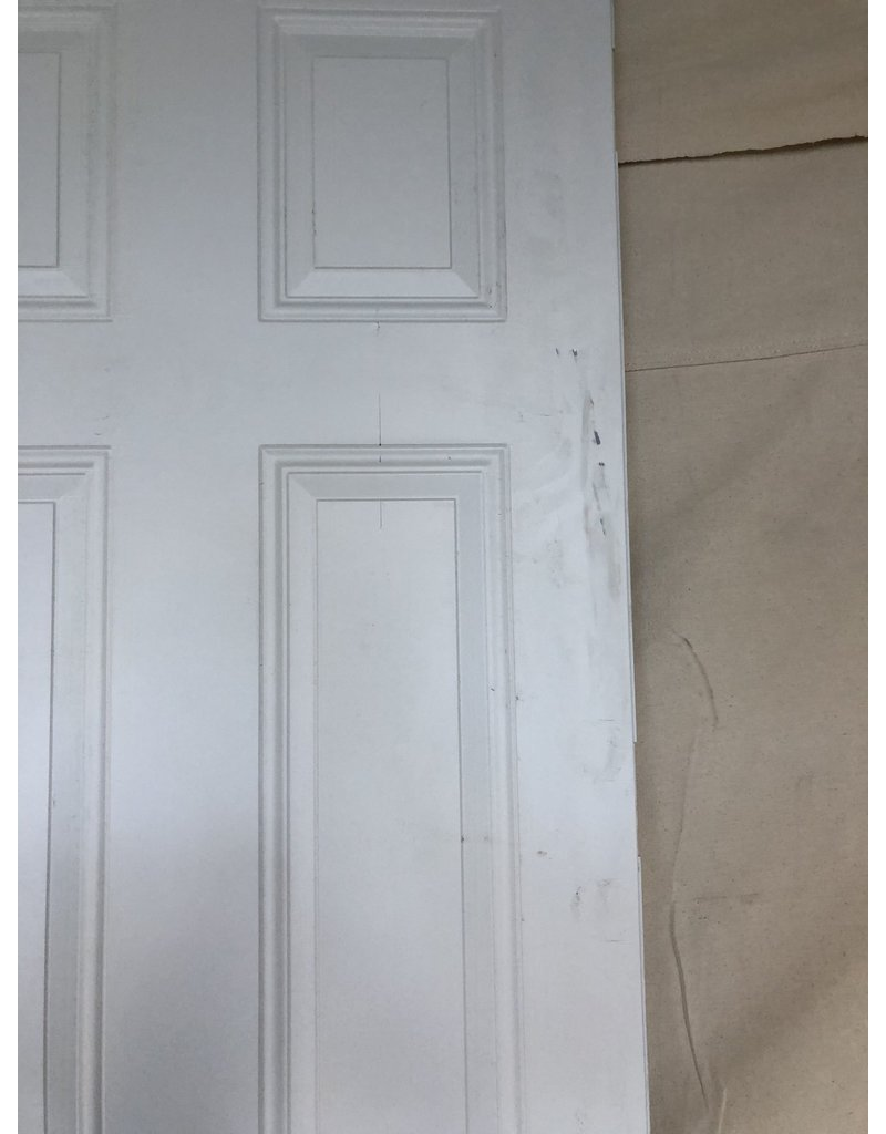 "East York 95""H x 31.5""W Solid White Front Door"