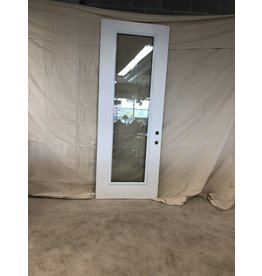 "East York 95""H x 36""W White Front Door/full window"