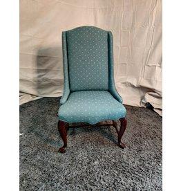 Markham West Blue accent chair