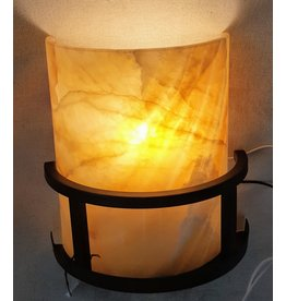 East York Wall Sconce with Marble Shade
