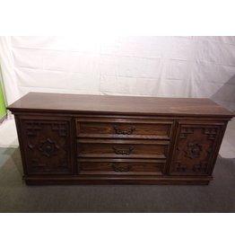 Vaughan Vintage Oak Dresser