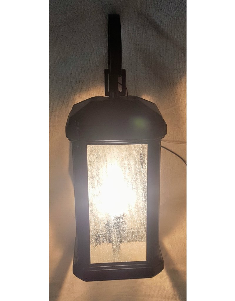 East York Carriage Wall Sconce - Black