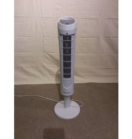 Vaughan Electric White Tower Fan