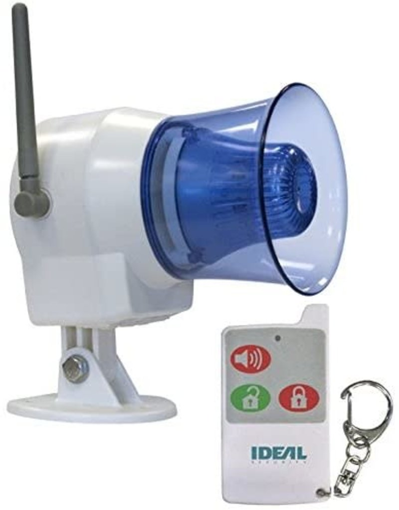 Studio District Ideal Security SK626 Wireless Indoor-Outdoor Siren with Remote Control