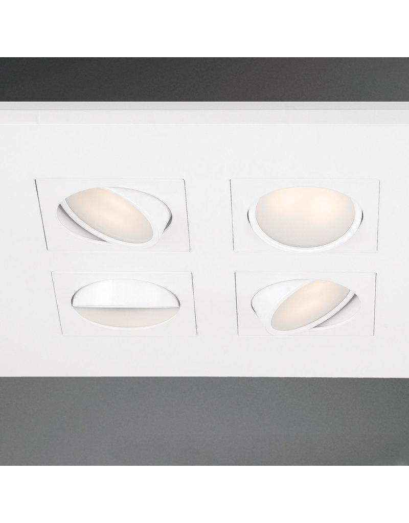 "Studio District Venue - 14.5"" 36W 4 LED Square Flush Mount"