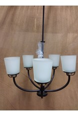 North York 5 bulb chandelier