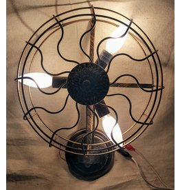 East York Bronze wall sconce - fan shaped