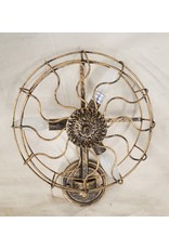 East York Bronze wall sconce - fan shaped