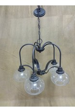 North York 5 bulb chandelier with round shades