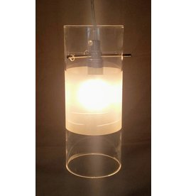 East York Single light chandelier - clear