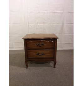 Vaughan Old fashioned 2 drawer Night Stand