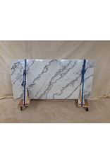 Markham West Marble Dining Room Table Top - White